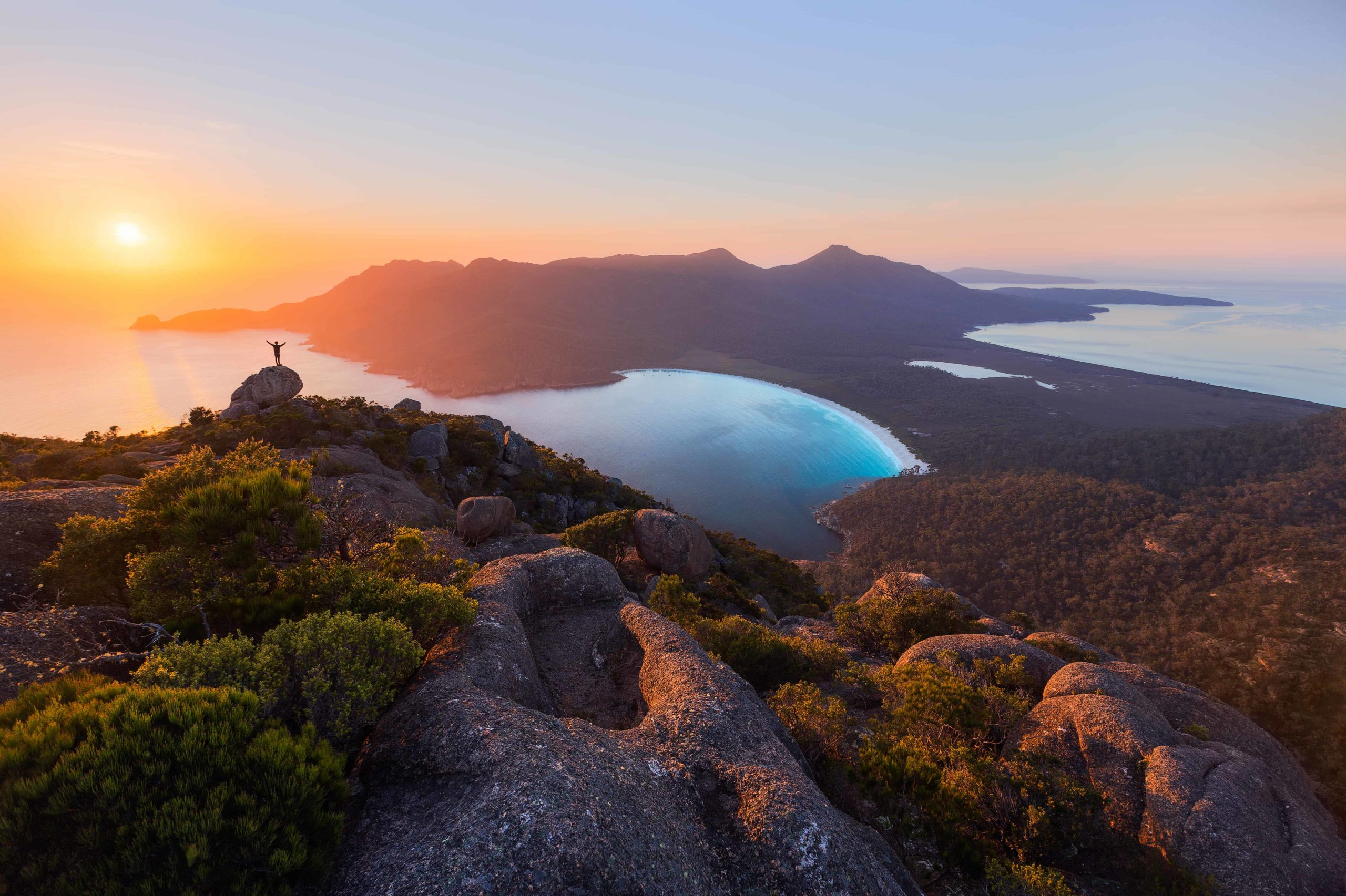 129786-Sunrise-at-Wineglass-Bay-Brian-Dullaghan