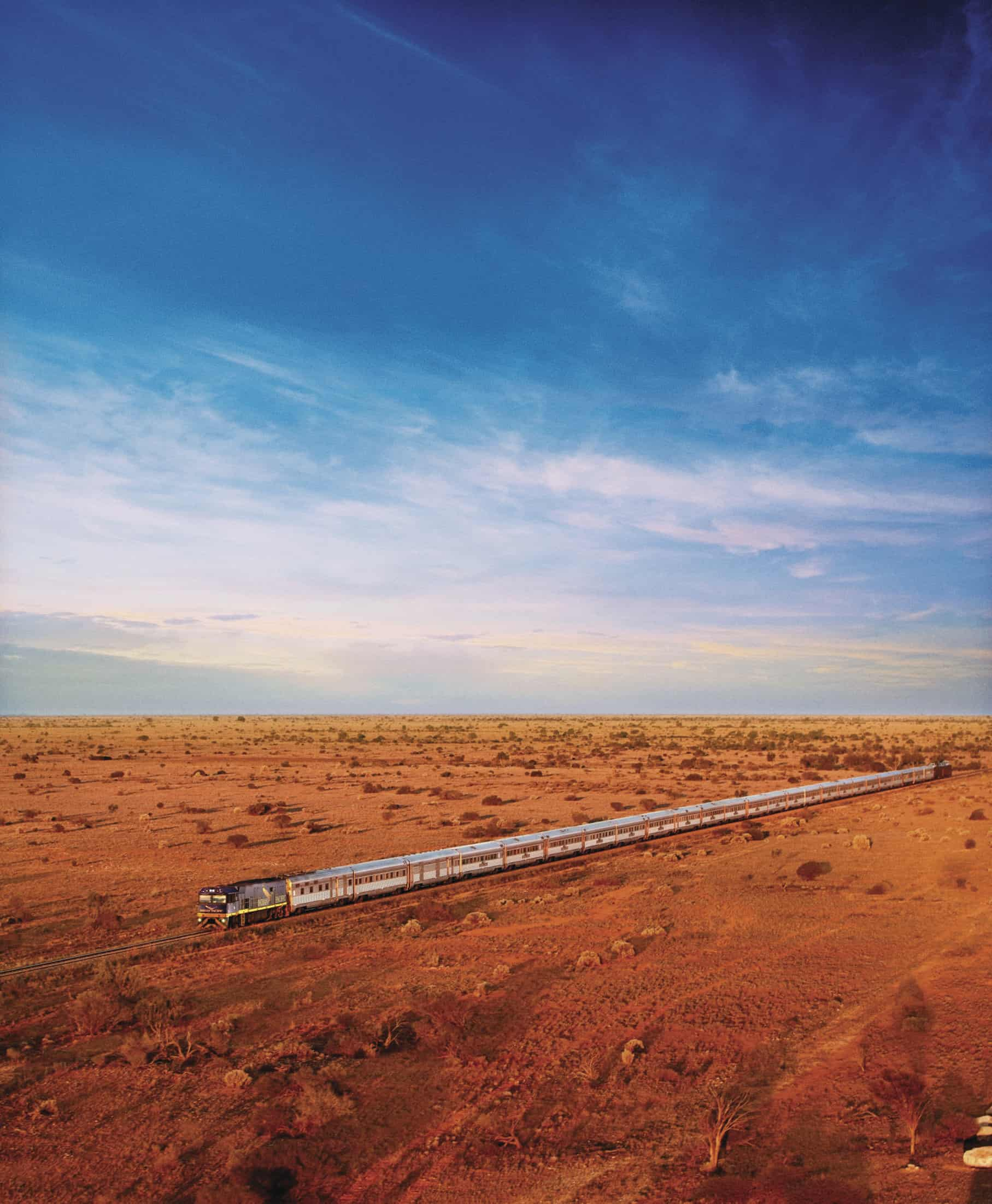 The Luxury Ghan and Aussie Red Centre