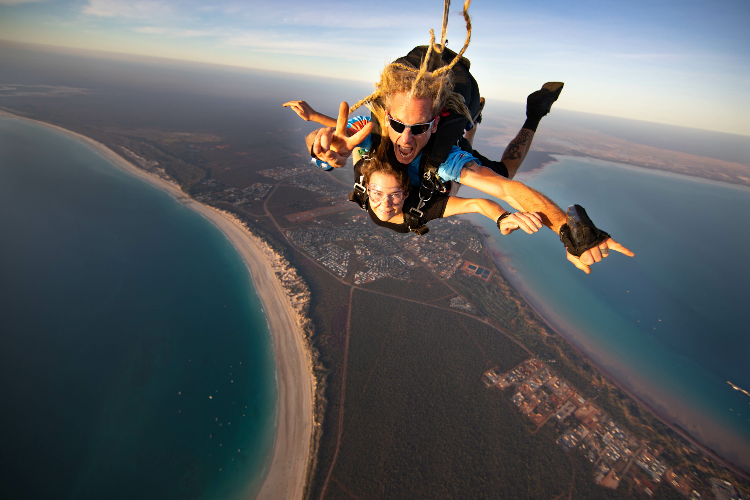 10,000ft Cable Beach Broome Tandem Skydive