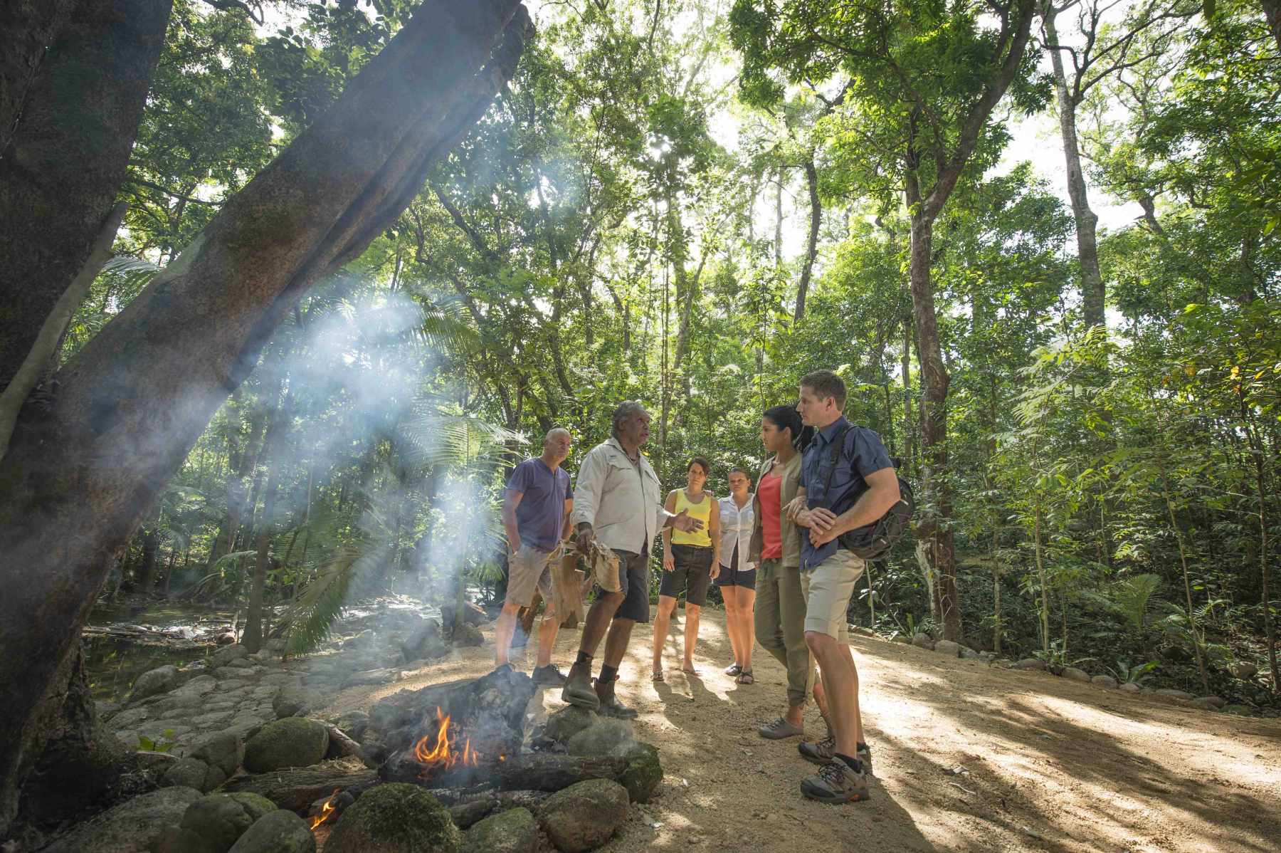 Daintree Dreaming - Traditional Aboriginal Fishing inc. Ngadiku Dreamtime Walk