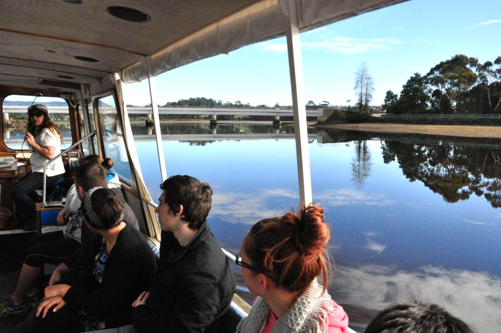 LEVEN RIVER & HISTORY CRUISE  approx 2 hr