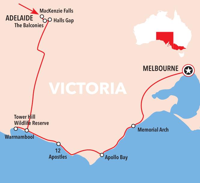 Autopia Tours: Adelaide to Melbourne 3 Day Tour - Standard Motel Room