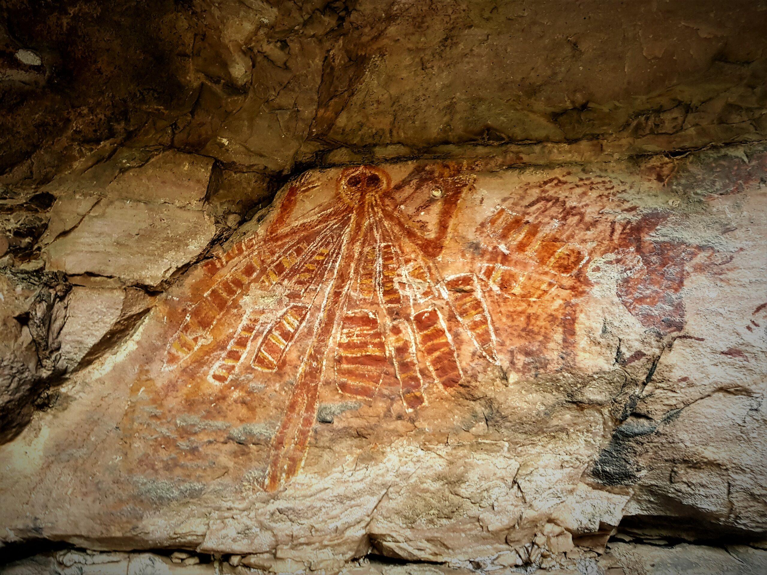 Yingana (the creation mother) Arnhem Land Injalak Hill tour (ex Darwin)