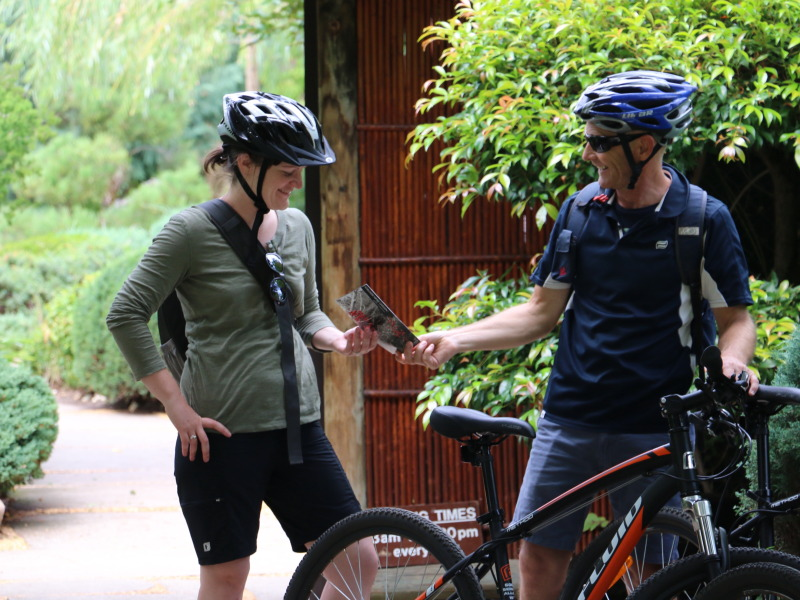 Adelaide City and Parks Bike Tour