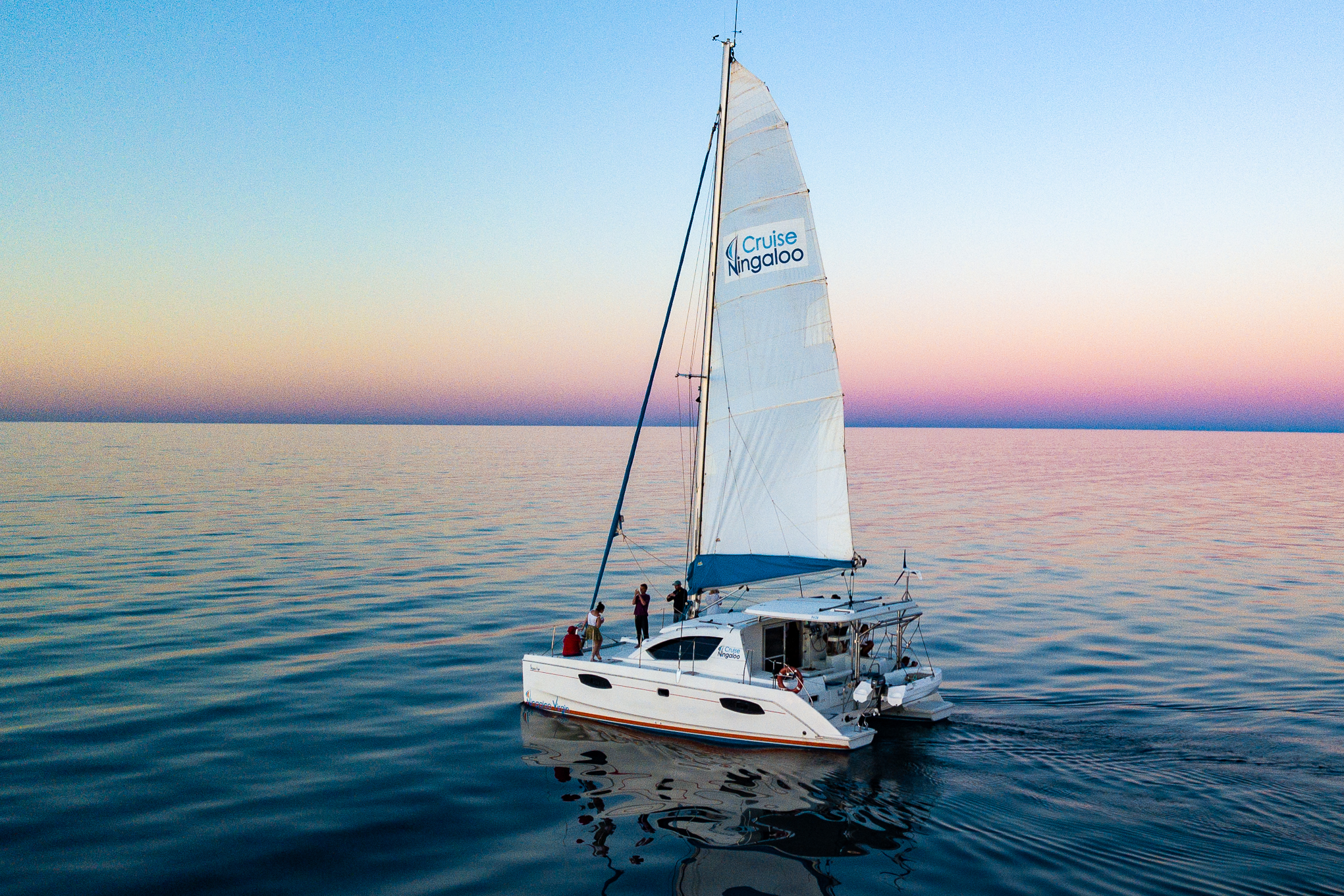 Sunsetwhalesail