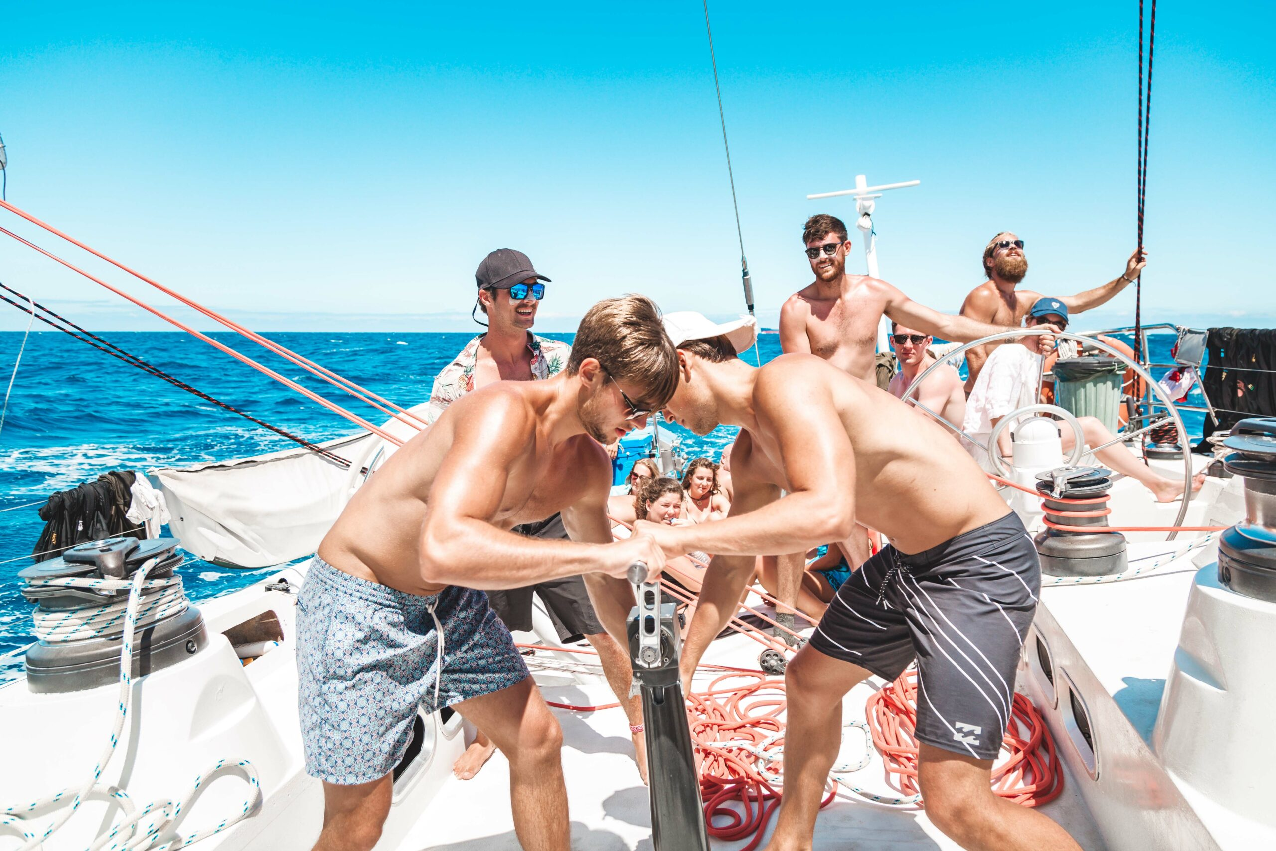 3 Day and 2 Night Whitsunday Maxi Sailing Adventure on Hammer