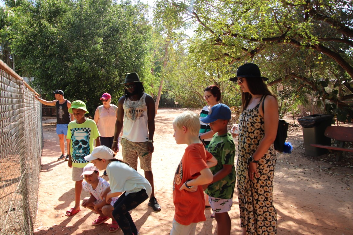 Broome and Around SPECIAL :  Broome 3 in 1 Iconic Tour - Matso's, 12 Mile Bird Park, Malcolm Douglas Crocodile Feeding Tour