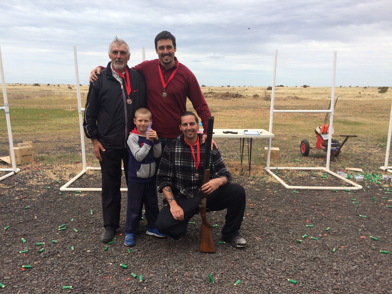Clay Shooting 5-6 people - Gold Coast (Beaudesert)