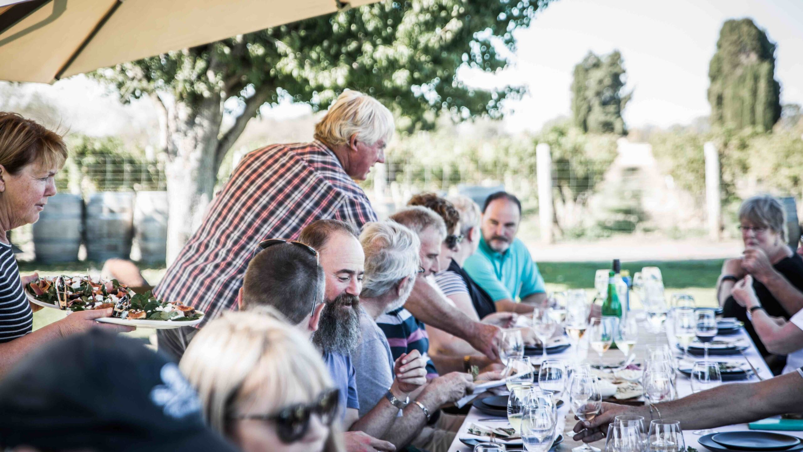 WINERY LUNCH WITH OUR WINEMAKERS