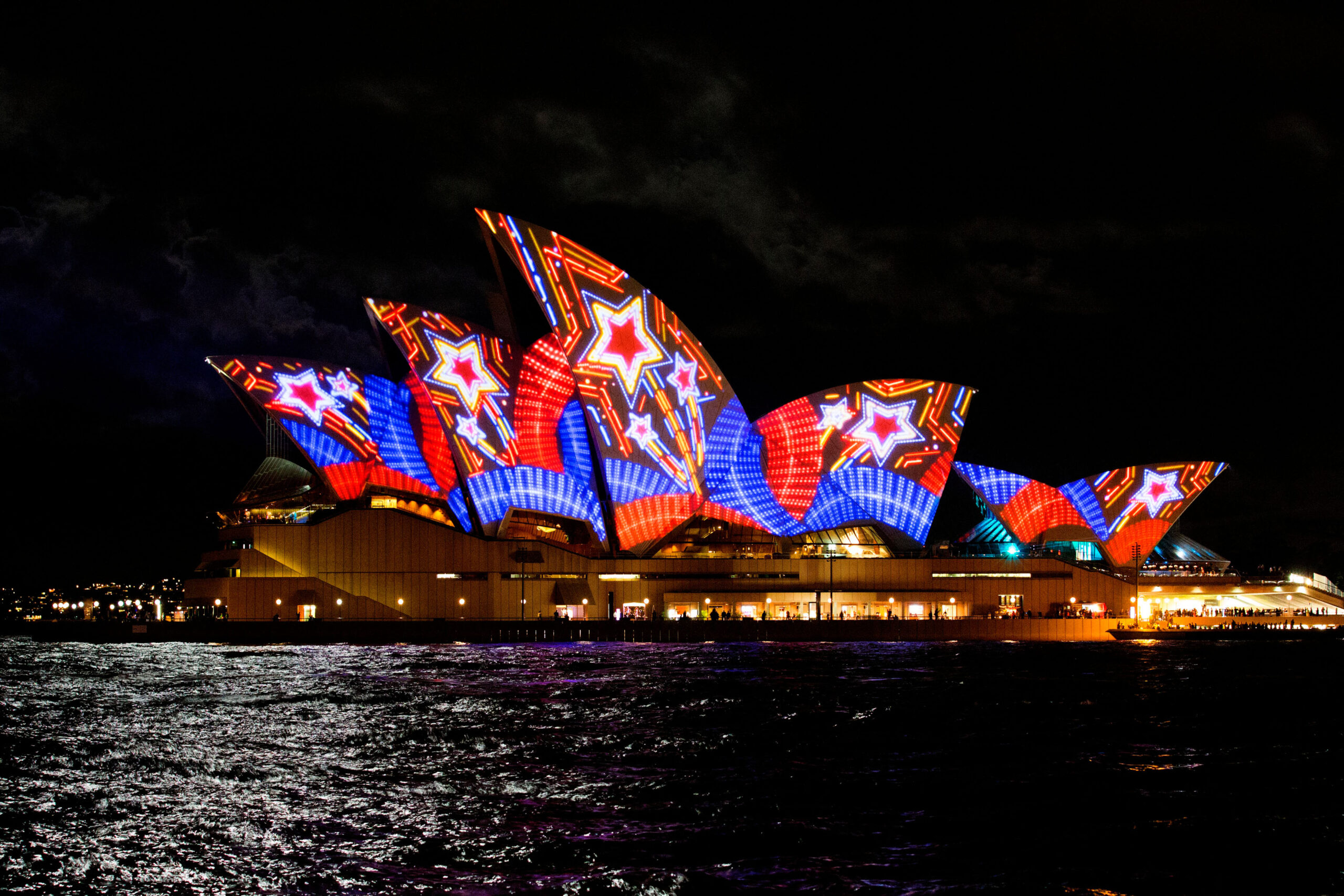 Vivid Festival of Light and Sound Cruise May - June 2019 Sunday to Thursday