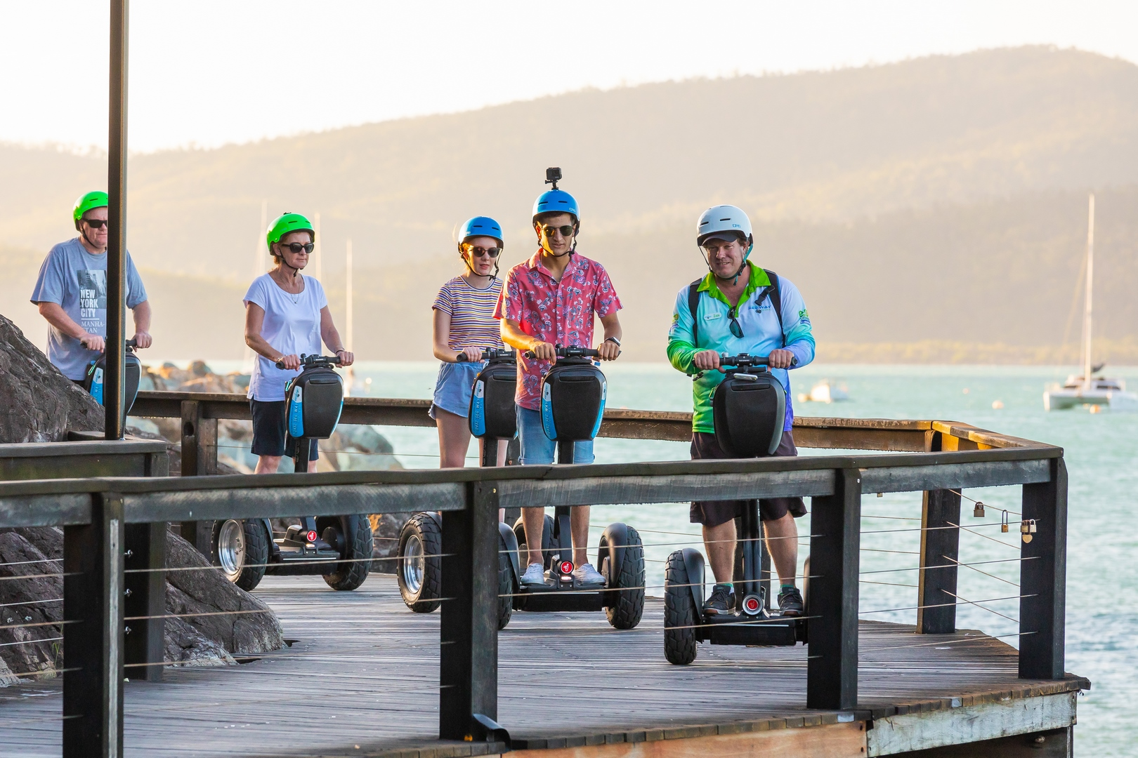 Segway Sunset and Boardwalk Tour (includes dinner)