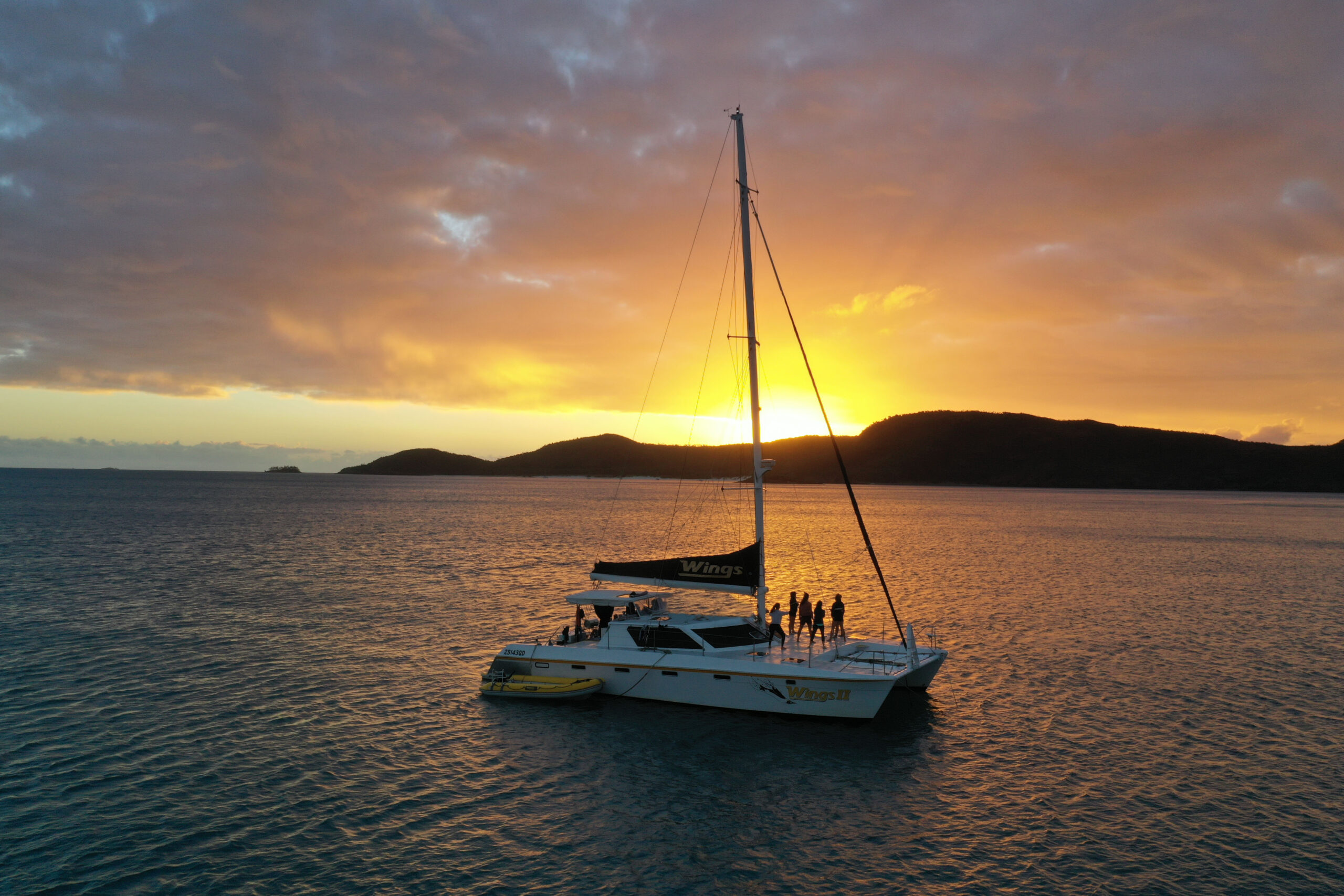 New Year Eve Sunset Sail On The Bay- 31st December- SPECIAL EVENT