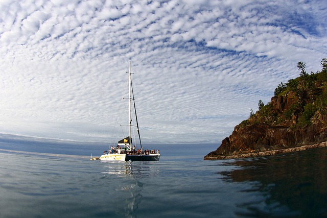 Wings Sailing Tour- 10% OFF SPECIAL - Whitsundays 2 day 2 night - Hull half of double Wings 2-CURRENTLY UNAVAILABLE