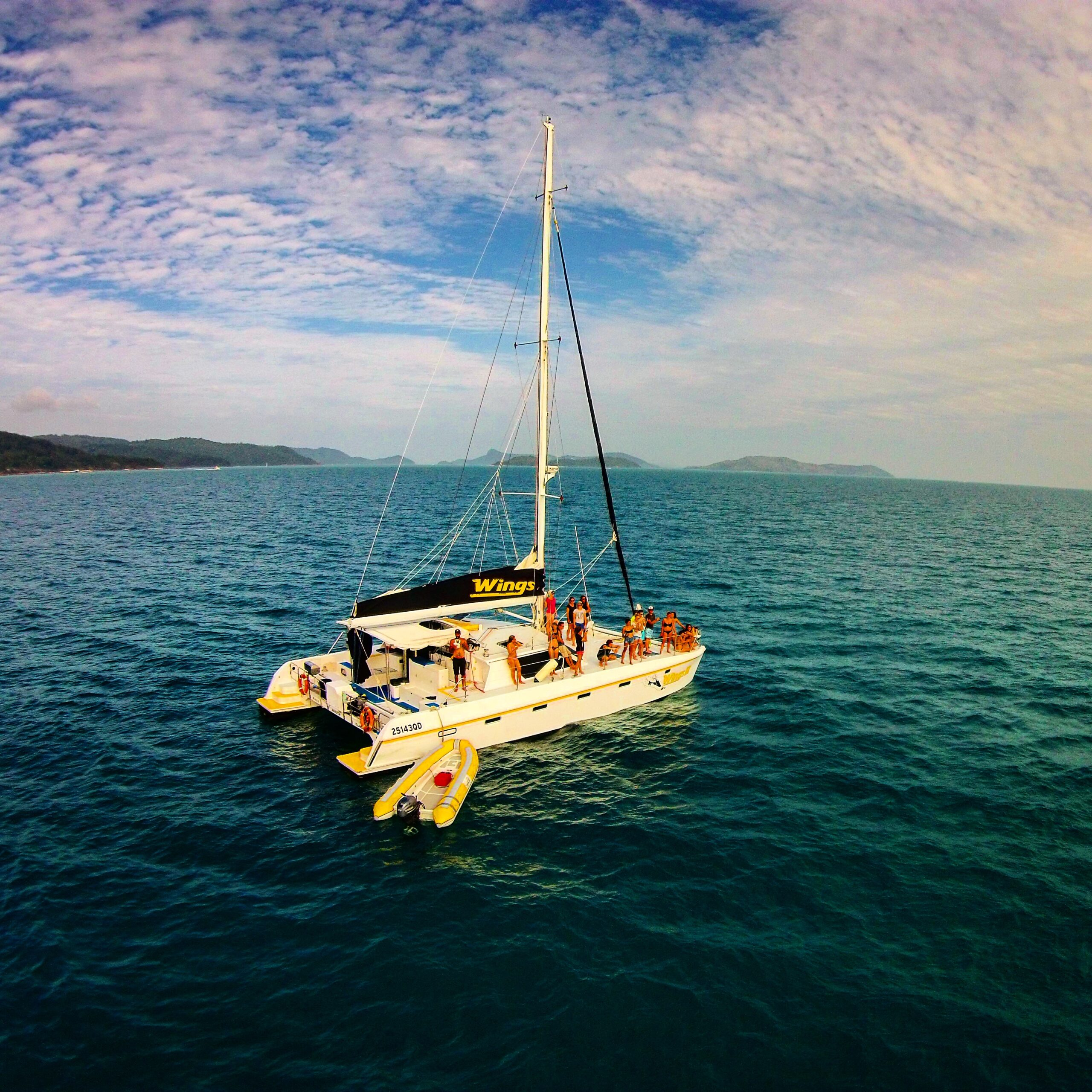 Wings Sailing Tour - 40% OFF SPECIAL - Whitsundays 2 day 2 night - Hull single