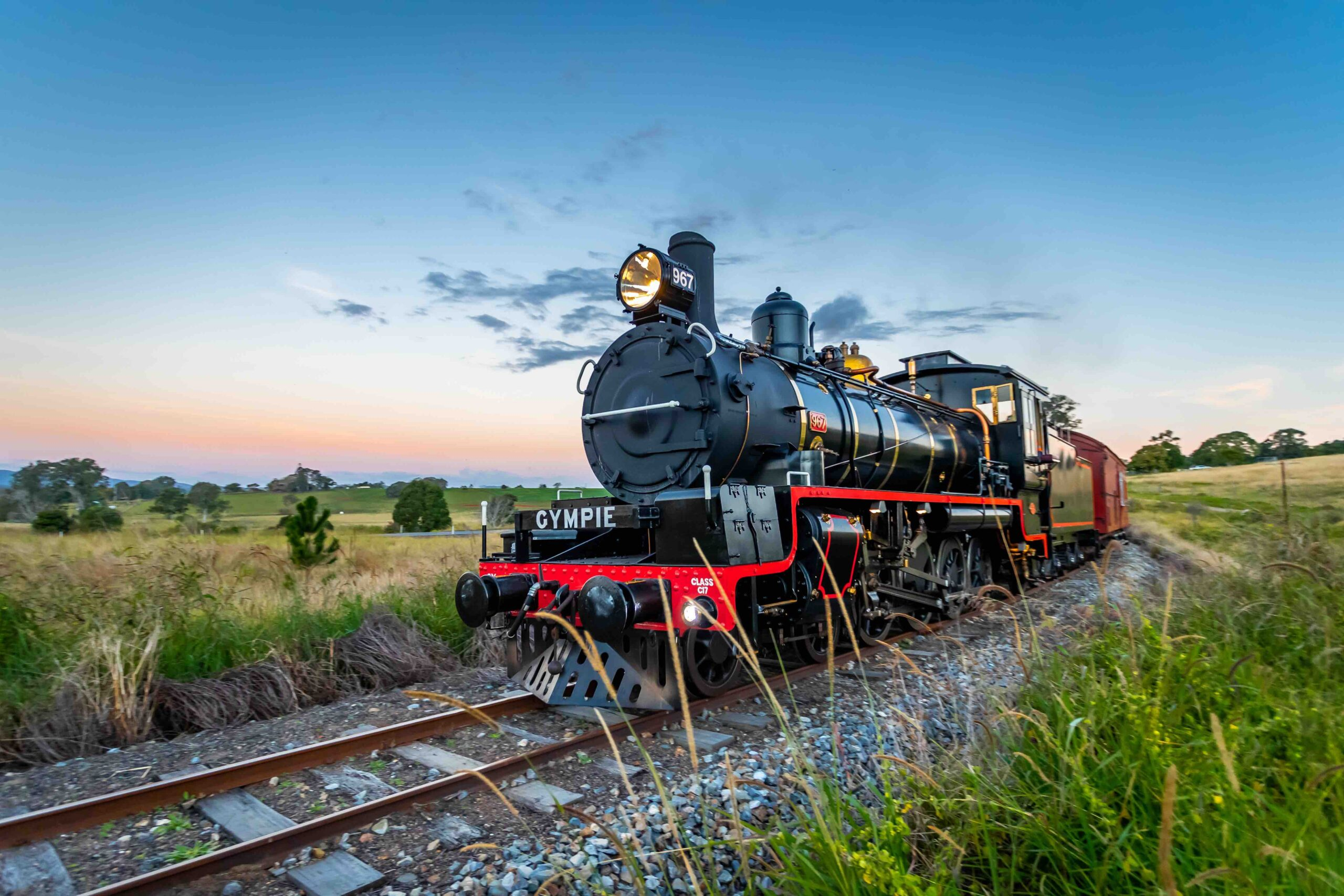 The Rattler All Stations Train - Departs Sundays Gympie to Amamoor (Return)