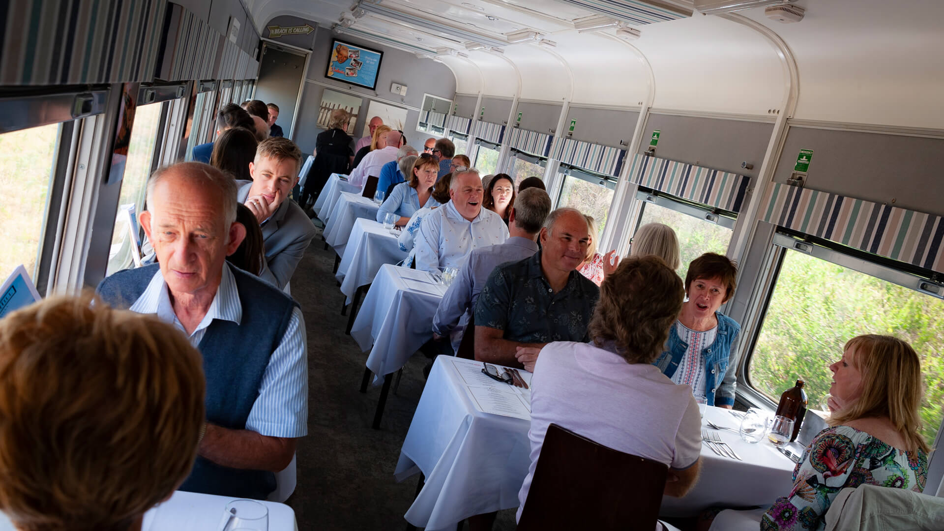 Q Class – Table for 4 (departs Queenscliff – Steam)