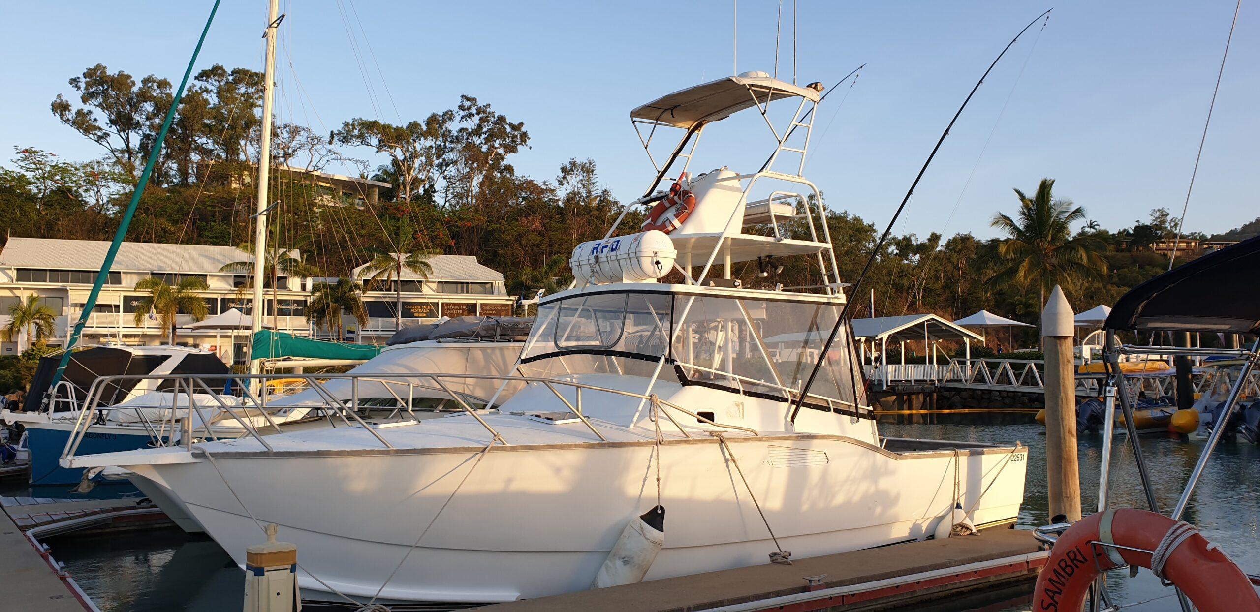 Morning Fishing Charter Whitsundays Airlie Beach