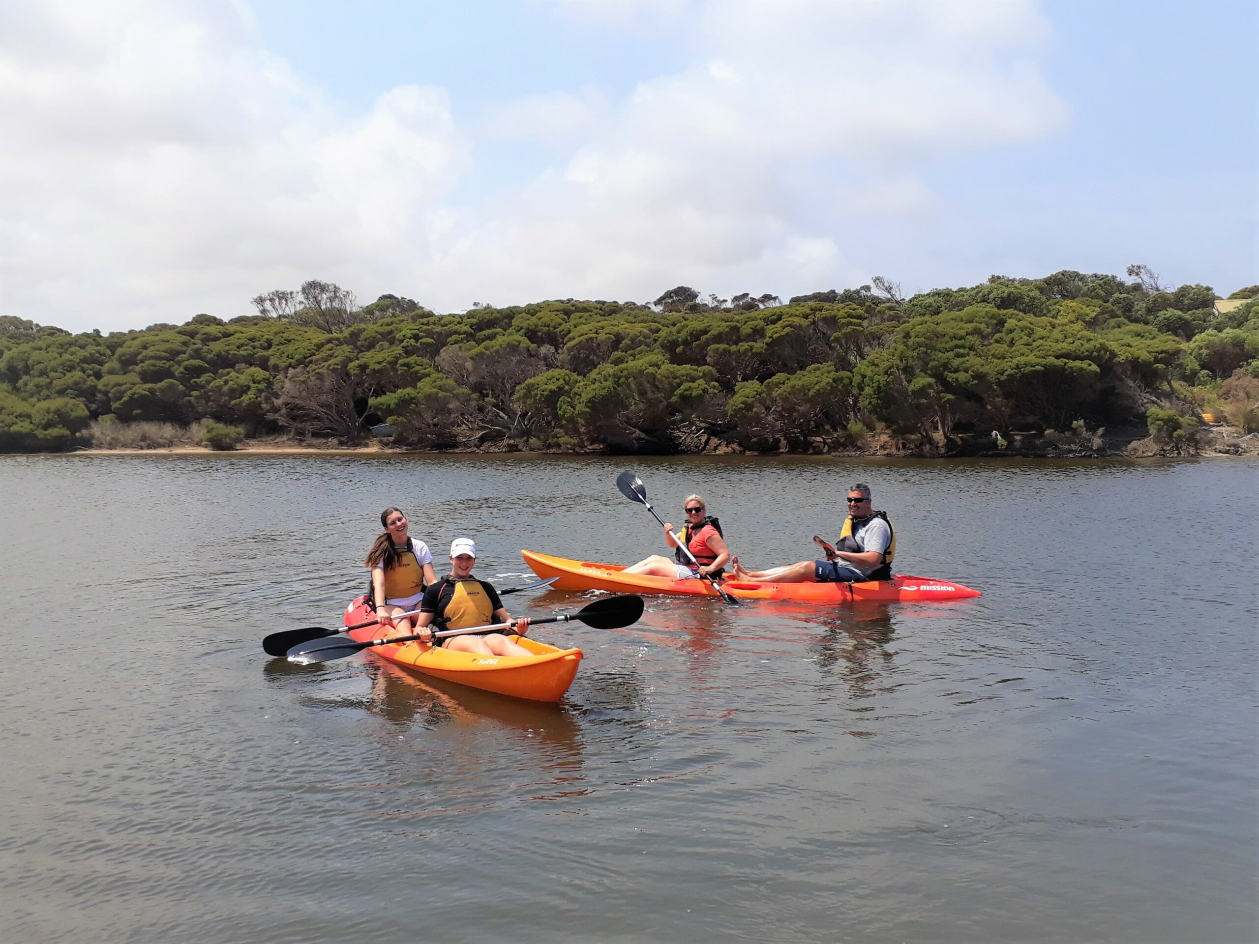 Guided Kayak Tour