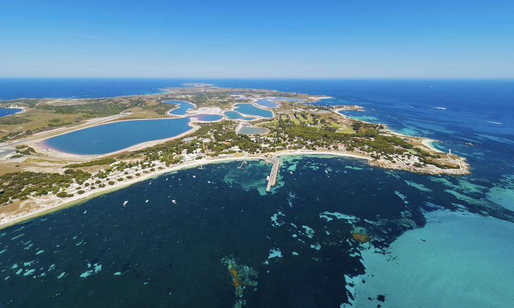 One Way Flight from Swan River to Rottnest Island