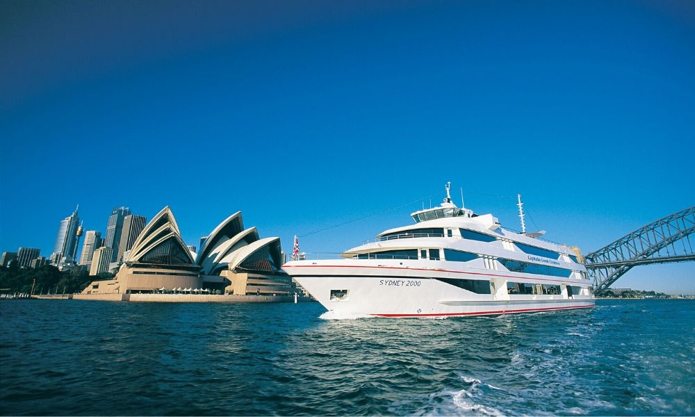 Sydney Harbour Top Deck 3 Course Lunch Cruise