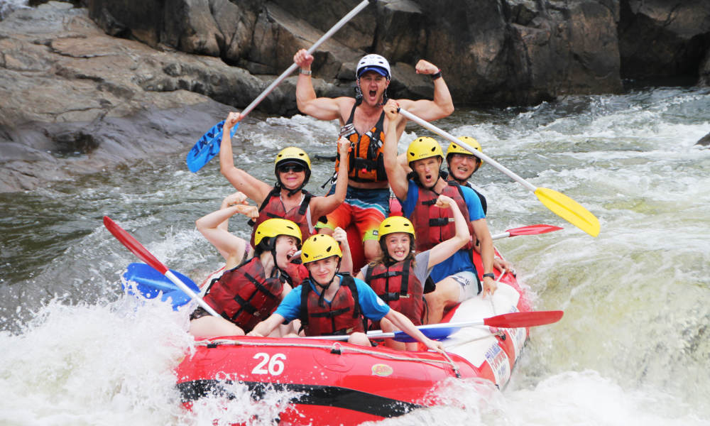 Barron River White Water Rafting - Self Drive