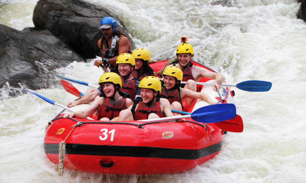 Barron River White Water Rafting from Port Douglas