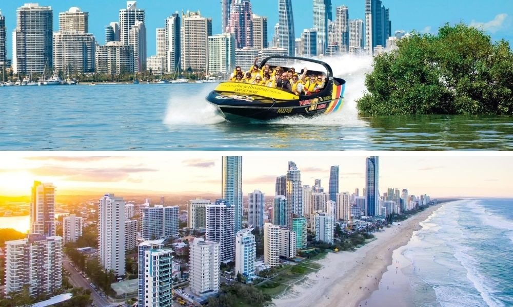 Gold Coast Jet Boat Ride and Helicopter Package