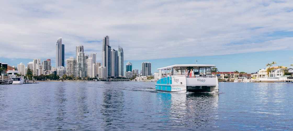 Gold Coast Hop On Hop Off All Day Ferry Pass