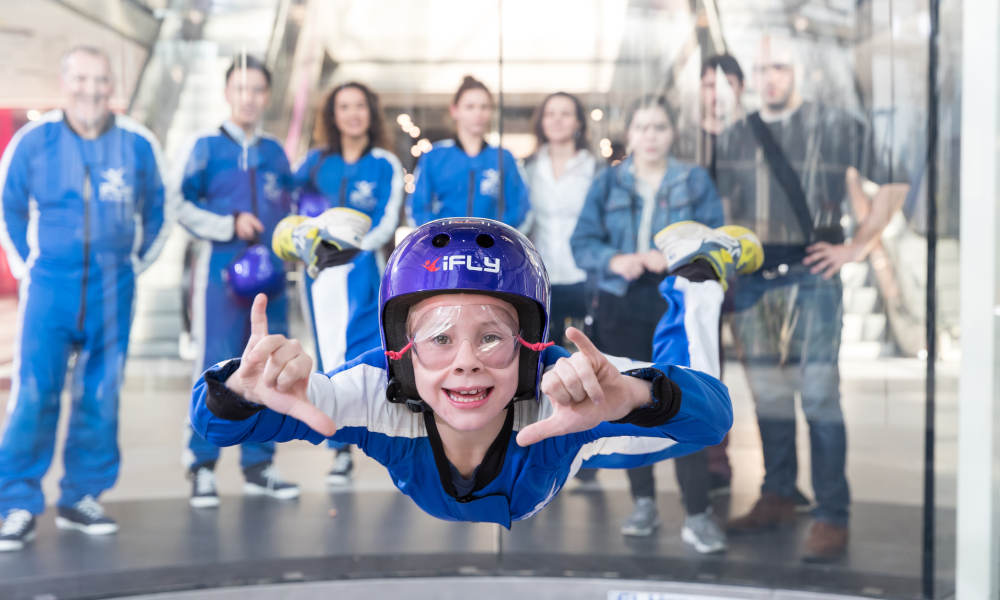 iFLY Indoor Skydiving Perth - Airborne