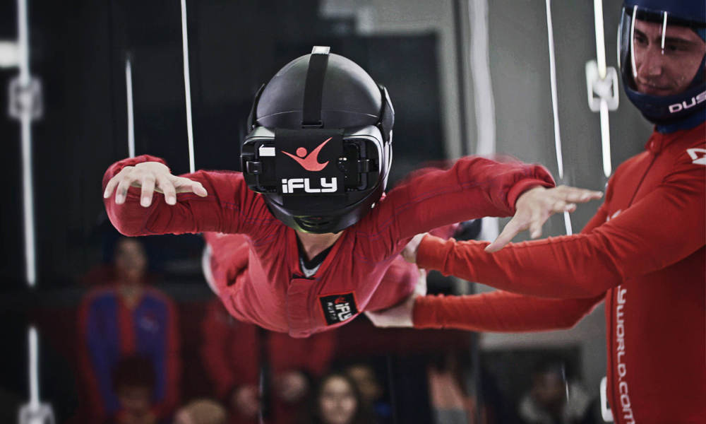 iFLY Melbourne Indoor Skydiving - 360 Virtual Reality Experience