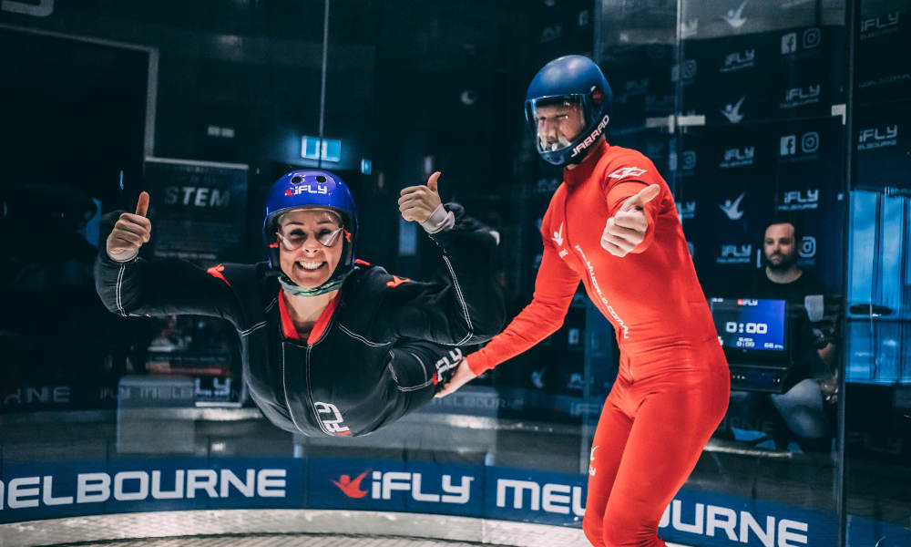 iFLY Melbourne Indoor Skydiving - Airborne