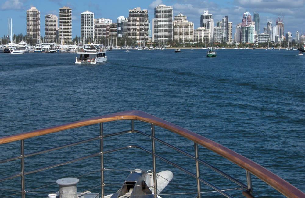 Gold Coast to Brisbane Day Cruise