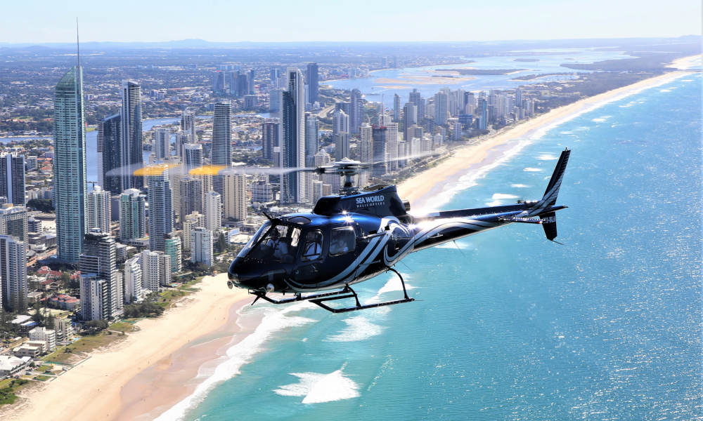 Gold Coast Scenic Helicopter Flights from Sea World