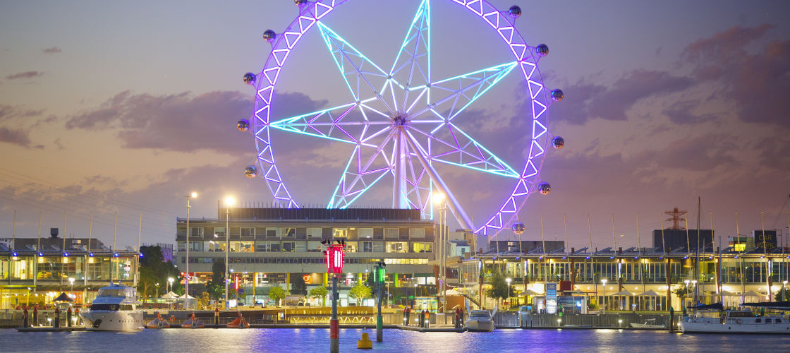 Melbourne Star Observation Wheel Sparkling Flight