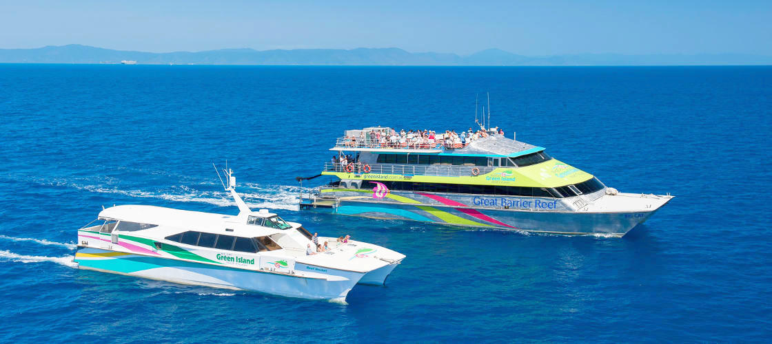Green Island Full Day Cruise - 9am Departure