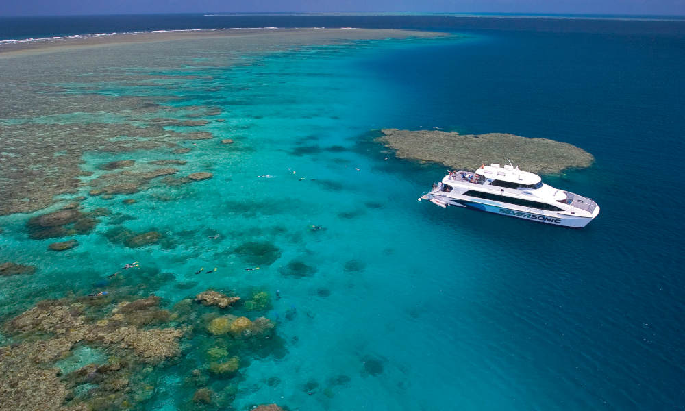 Port Douglas Premium Great Barrier Reef Cruise to 3 Reef Locations