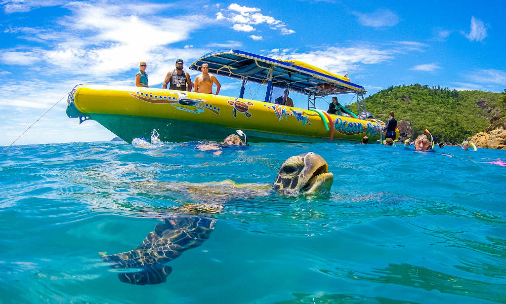 60 Minute Whitsunday Flight and Southern Lights Rafting Package