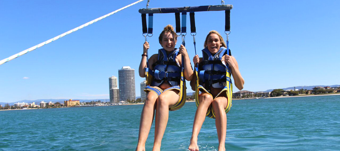 Gold Coast Jet Ski Hire and Tandem Parasail Package