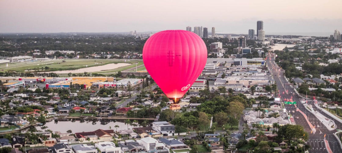 30 to 60 Minute (Average 45 Minute) Balloon Flight from Brisbane