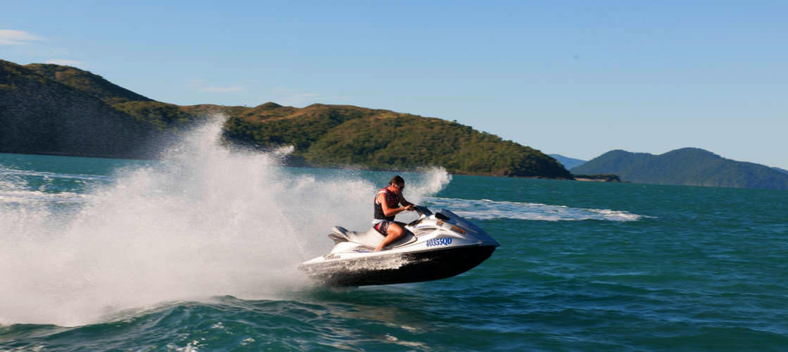 3 Hour Jet Ski Guided Tour from Airlie Beach
