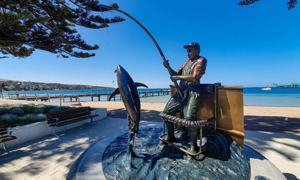 Lincoln National Park Day Tour from Port Lincoln including Wine Tasting