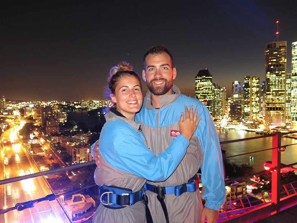 Brisbane Story Bridge Night Climb