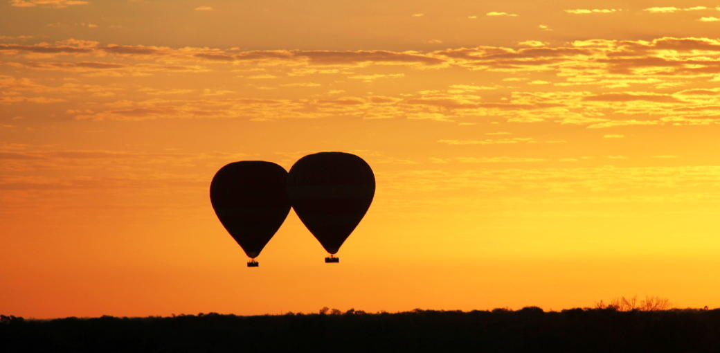 60 Minute Scenic Hot Air Balloon Flight including Sparkling Wine