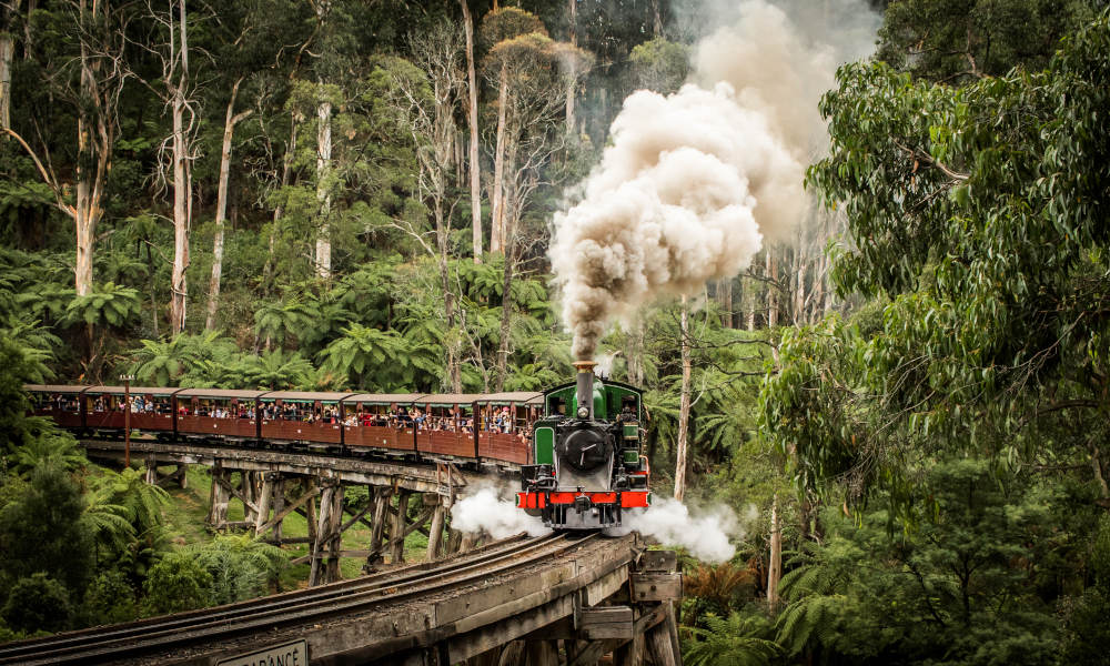Puffing Billy Belgrave to Lakeside Return Tickets