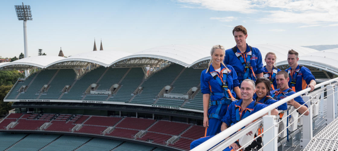 Adelaide Oval Day Roof Climb