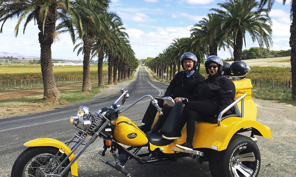 Barossa Valley Trike and Wine Tour