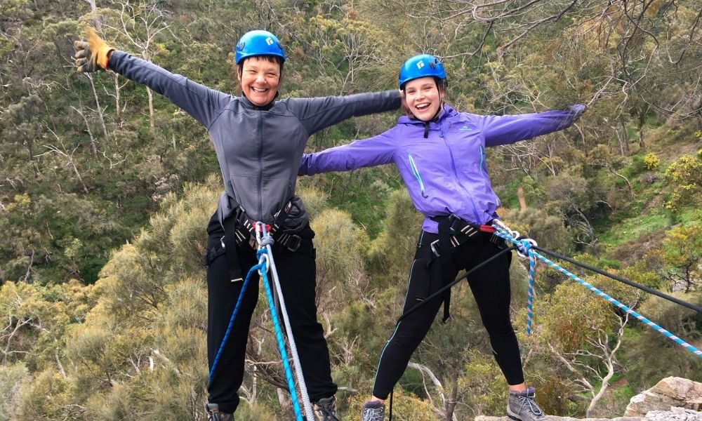 Full Day Rock Climbing and Abseiling Adventure