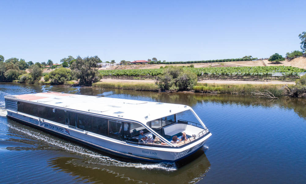 Swan Valley Wine Tasting Cruise including Lunch