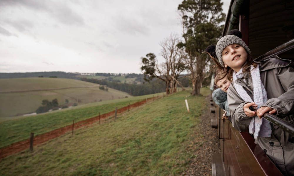 Puffing Billy Lakeside to Gembrook Return Tickets