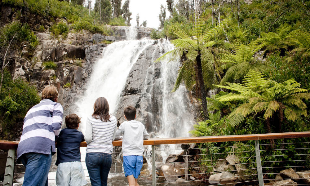 Full Day Lake Mountains Snow Tour from Melbourne